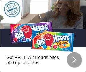 Exclusive - AirHeads Candy Giveaway! - USA Get This Offer: http://www.freestuffcloud.com/exclusive-airheads-candy-giveaway.html #DailyGiveaway #AirHeadsCandy #FreeStuffUSA