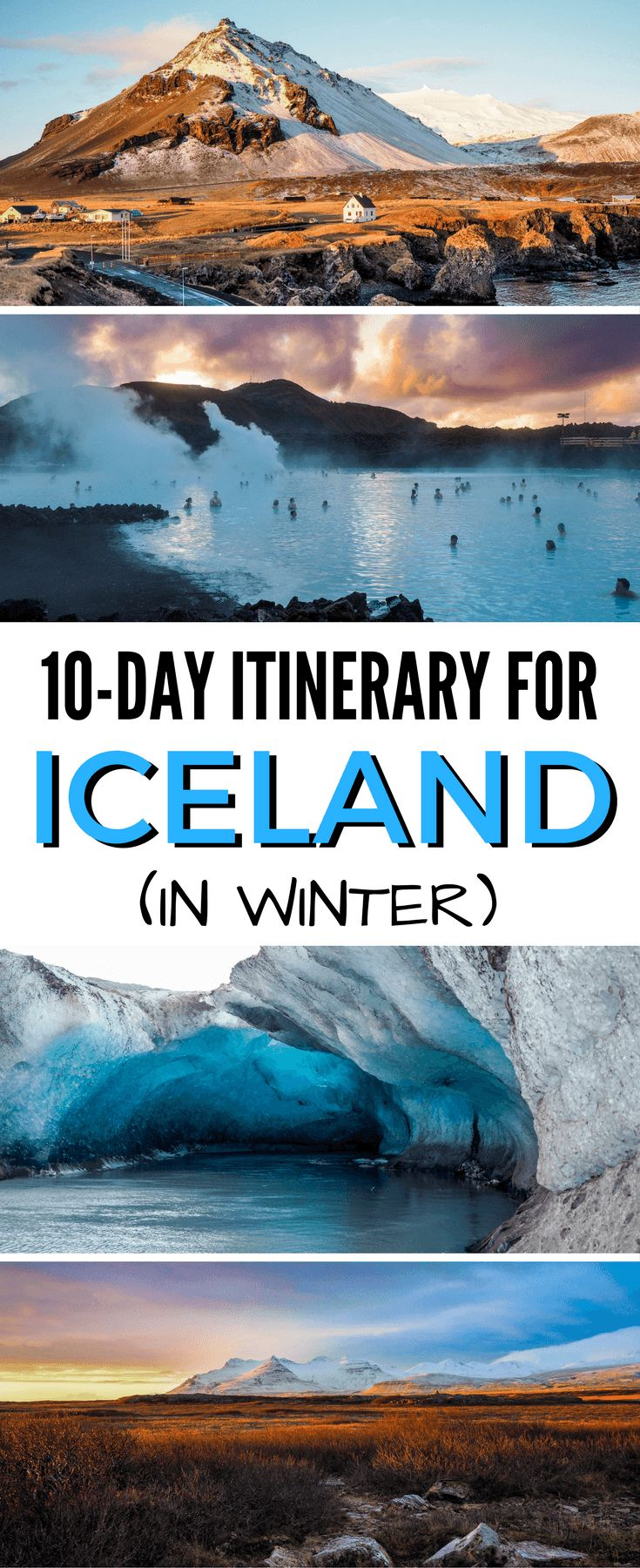 10 days in Iceland in winter |  Iceland travel itinerary | Iceland winter travel via @dangerousbiz