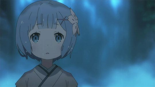 Animated gif about cute in Re:Zero 💙 by ~ Mira ~ ♥️