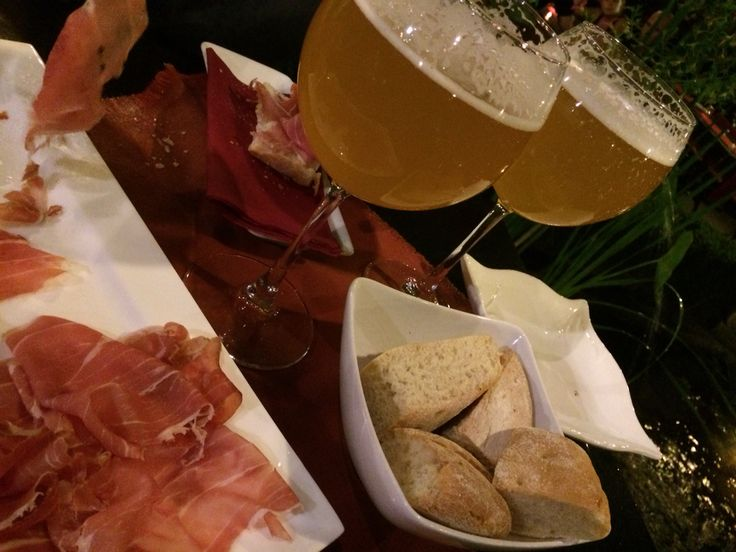 Birra e crudo di Parma