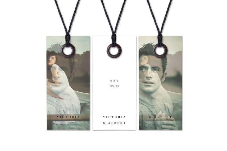 Victoria & Albert SS11 Swing tags