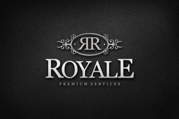 Royale Logo Template - Royale is a elegant and professional Logo Template, perfect for Luxury Industry, Jewelry Stores, Hotels, Fashion Stores, Restaurants, Wineries and much more... #Logos
