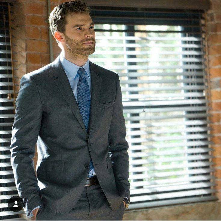 A not so happy Mr. Grey