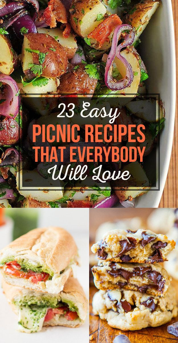 23 Easy Picnic Recipes That Everybody Will Love. Some of these look pretty tasty!
