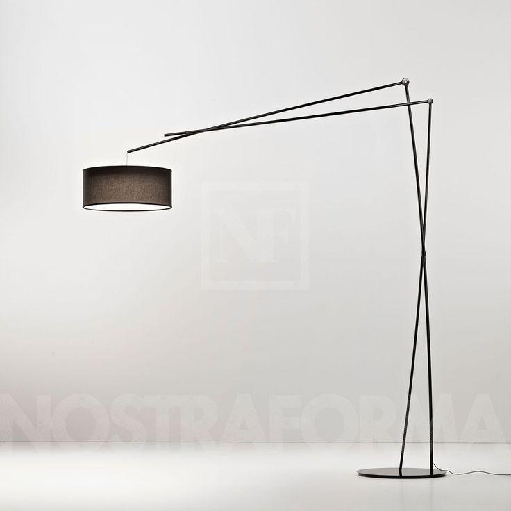 Prandina Effimera F5 lampadaire avec abat-jour » Design Luminaires Contemporains, Lampes & Mobiliers » NOSTRAFORMA.