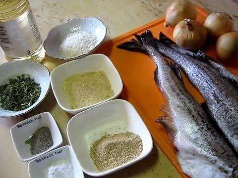 Рыбные котлеты из минтая постные (видеорецепт)