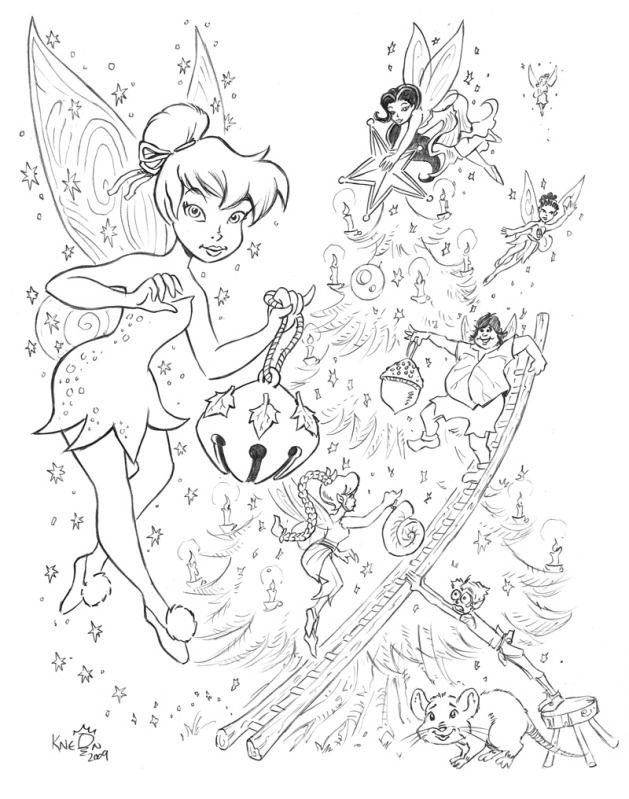 Disney Fairies Christmas By KneonT On DeviantArt
