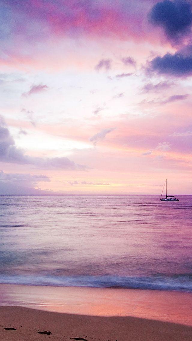 Download Free Hd Wallpaper From Above Link Boat Sea Purple Calm Dream Ocean Ocean Wallpaper Boat Wallpaper Boat Beach hd wallpapers pack free download