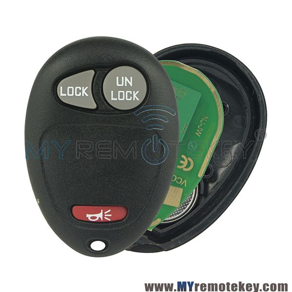 Remote Key Fob L2c0007t 2 Button With Panic For Chevrolet Colorado