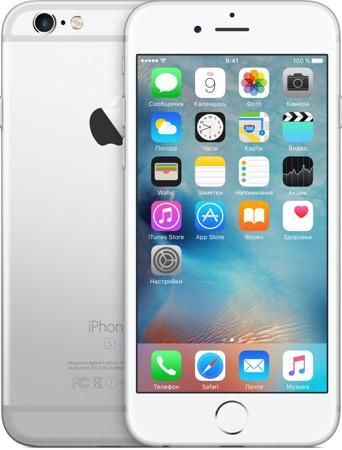 Телефон Apple iPhone 6S 32Gb (Silver)  — 32990 руб. —