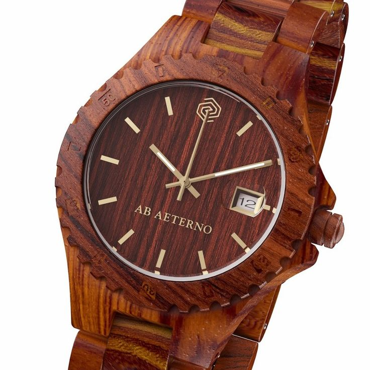 This model made of 100% Natural Red Sandalwood is called ROCKY and its warm and refined color reminds the Australian Red Rocks.
