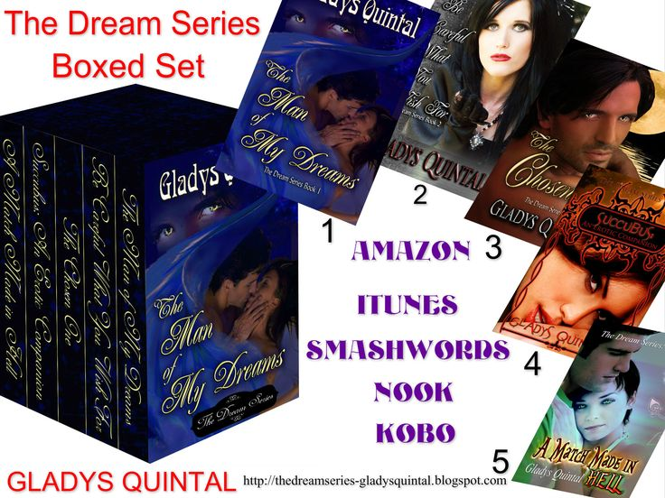 All 5 eBooks in The Dream Series are now in a boxed set!