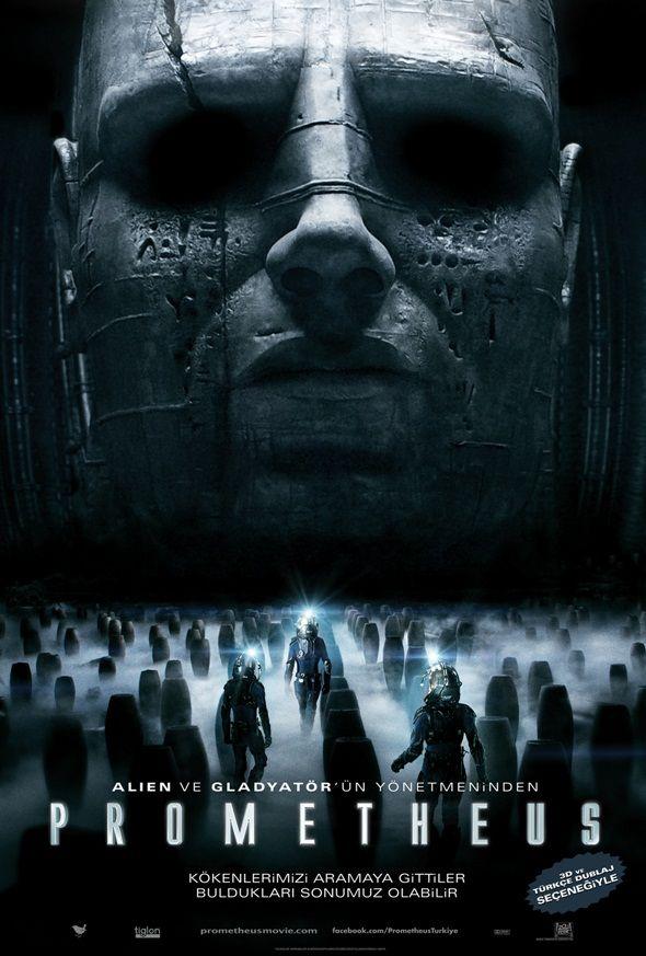 Prometheus: Movie Posters, Prometheus 2012, L'Wren Scott, Science Fiction, Prometheus Movie, Film Posters, Sci Fi, Favorite Movie, Ridley Scott