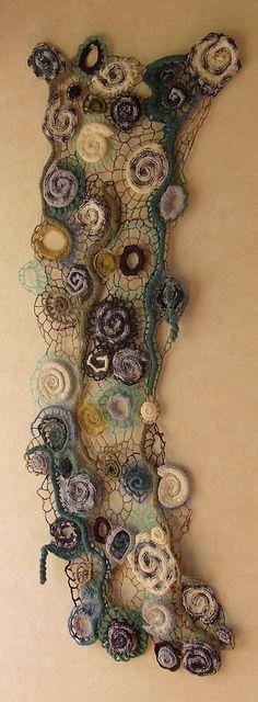 Cuando el tejido se vuelve arte moderno