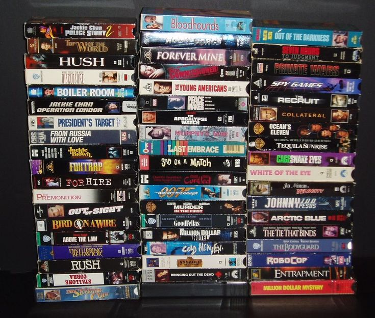 THRILLER/MYSTERY/SUSPENSE MOVIES  - lot of 56 VHS