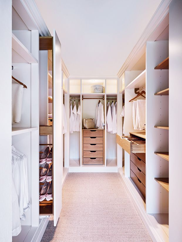 John Lewis of Hungerford walk in wardrobe. Would be brill to do this to the back bedroom when all the little birds have flown the nest.