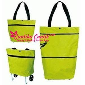 Tas Trolley Foldable Shopping Bag. Tas yang dapat membantu meringankan barang-barang belanjaan anda **Selengkapnya: http://c-cantik.me/1y **Order Cepat: http://m.me/cantikacantik.id  KONTAK KAMI DI - PIN BBM 2A8FB6B4 - SMS / WA 081220616123 Untuk Fast Response