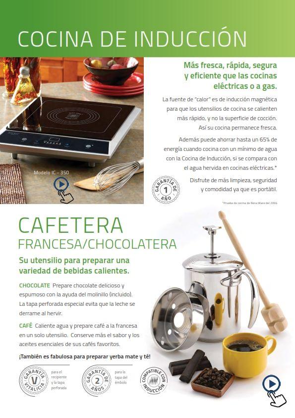 Pin De Percy A En Productos Rena Ware Cocina Electrica Utensilios De Cocina Cocinas