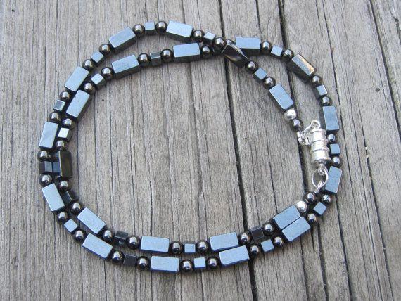 Hematite Necklace.