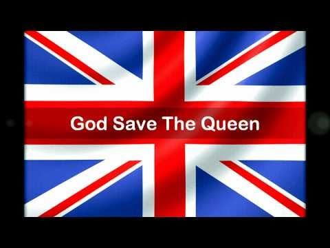 British National Anthem: God Save The Queen - With Lyrics - In High Definition [HD]