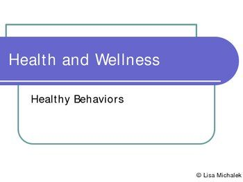 This Health and Wellness PowerPoint Presentation has 11 slides on the following topics: Health, Wellness, Physical health, Intellectual Health, Social Health, Emotional Health, Environmental Health, Spiritual Health, Improving Your Health, Other ways to improve your health. $2.50