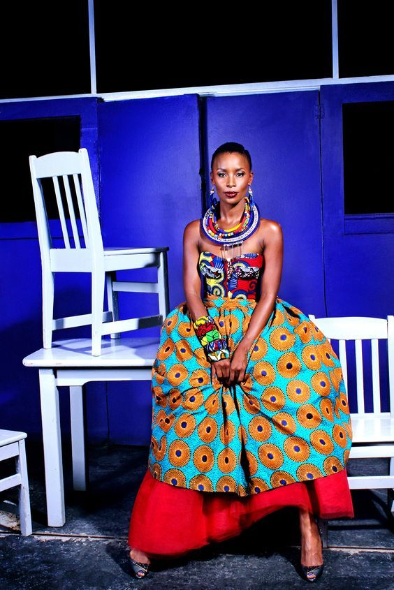 Bonnie Mbuli In Bona Magazine African Fashion Ankara