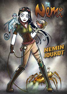 Nemi - Nemin joukot - Lise Myhre - Nidottu, pehmeäkantinen (9789522336286) - Kirjat - CDON.COM