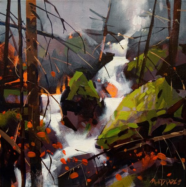 Creek in Lions Bay, by Michael O'Toole