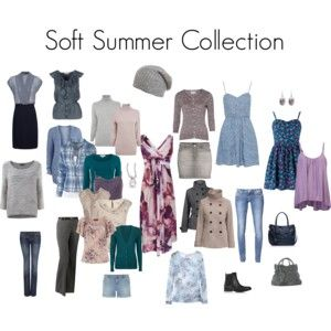 10 Images About Clothes Soft Summer Palette On