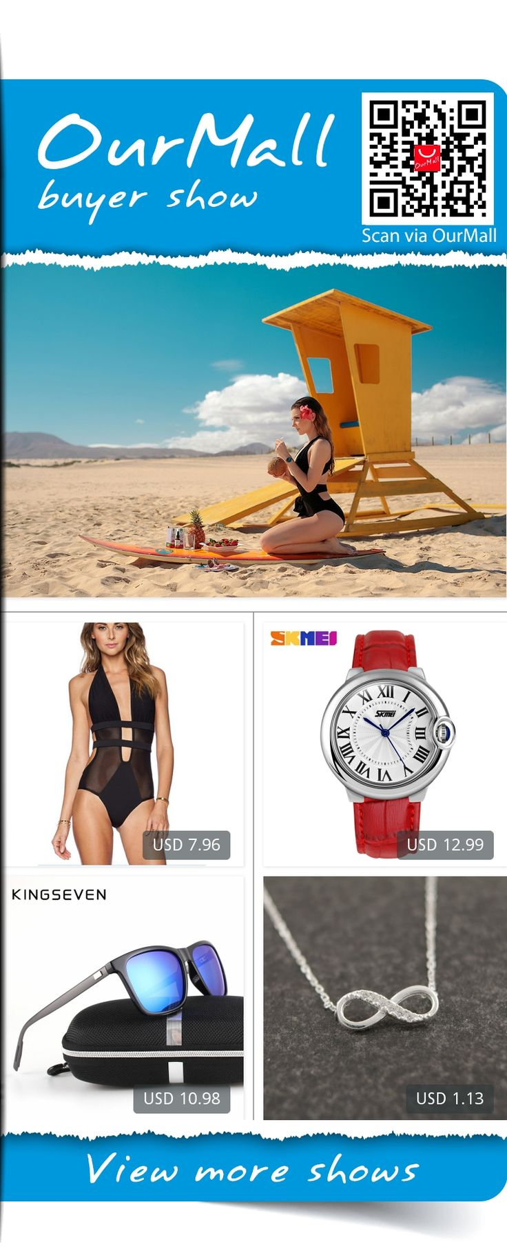 The surfer life,  #necklace #necklace #bathing suit #swimwear #watch #beach #beachwear #summer  , http://ourmall.com/r/fmE7Jz