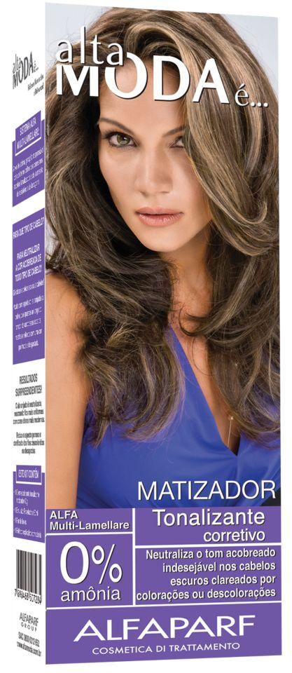 A solução para quem deseja neutralizar o acobreado ou alaranjado dos cabelos…