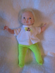 Ideal Newborn Thumbellina Doll from the 1960's -