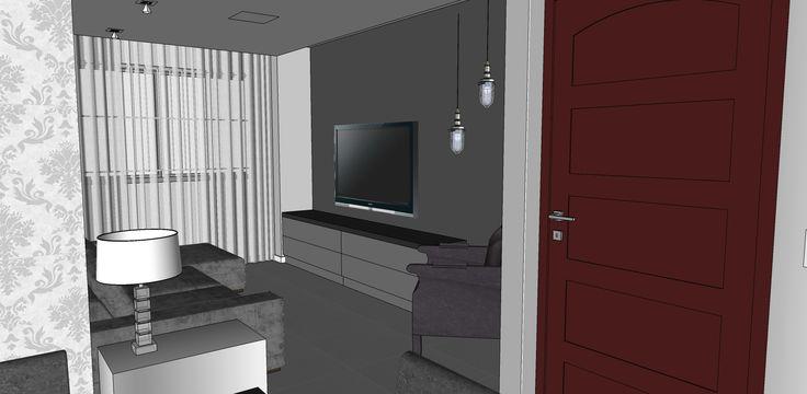 Projeto escritório Atelier da Reforma - Apartamento Moema