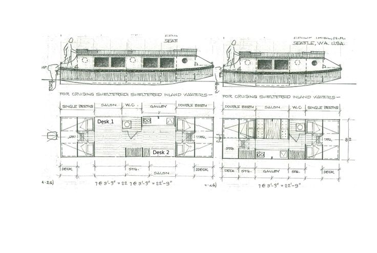 Philip Thiel Joli drawings. | Boats and Waterways ...