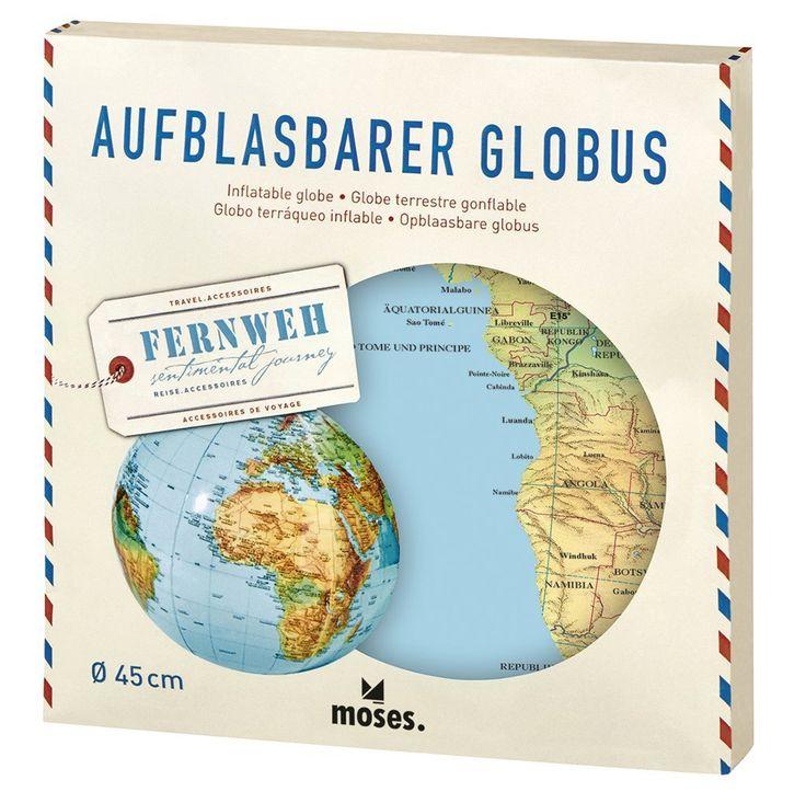 Shop // Fernweh Wasserball. Der aufblasbare Globus für den Strand oder den nächsten Seebesuch.