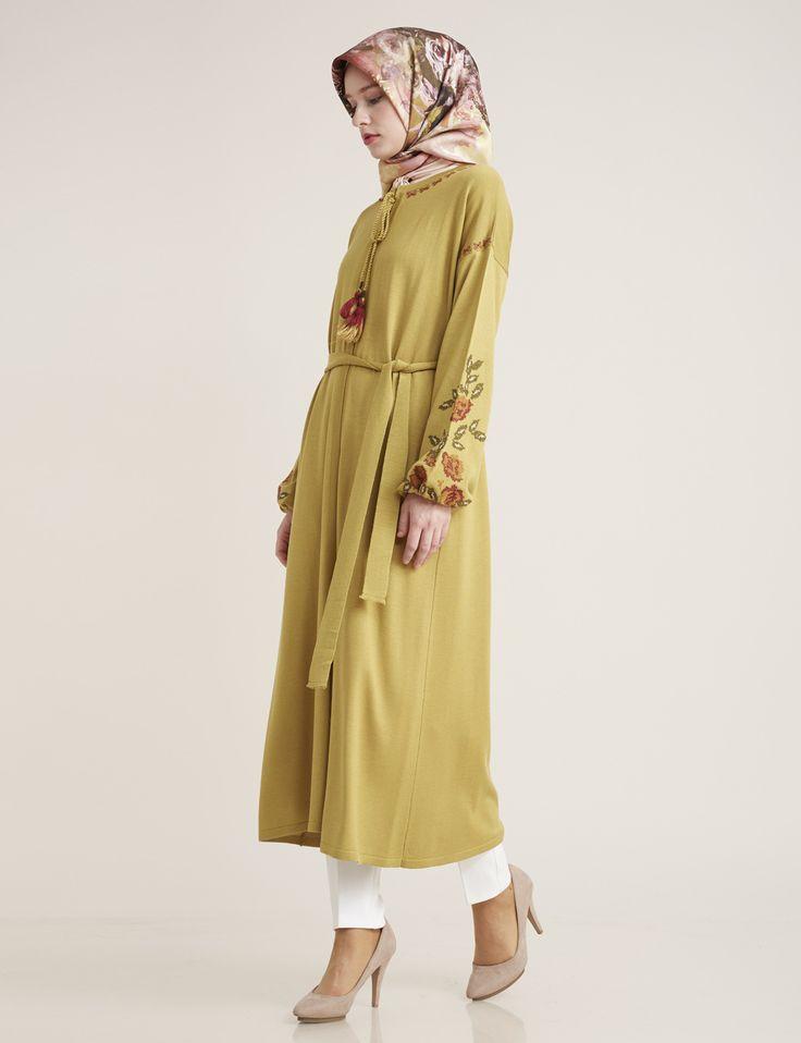 Knitwear Olive B7 TRK02