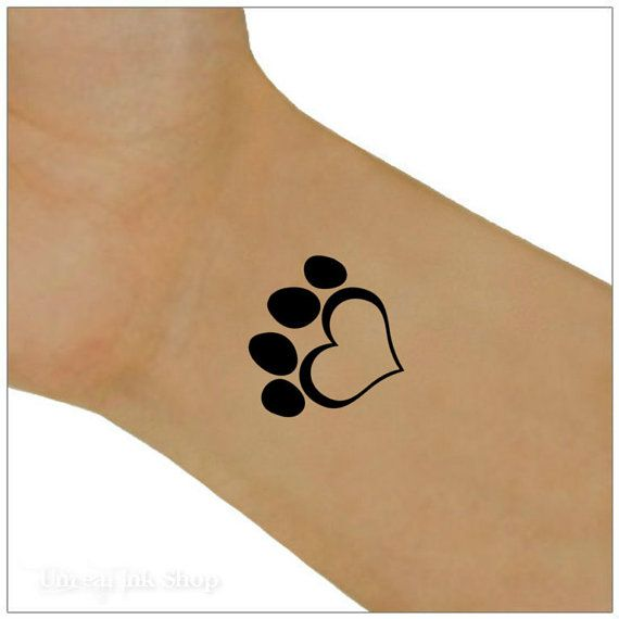 Temporary Tattoo 2 Heart  Wrist Tattoos by UnrealInkShop on Etsy