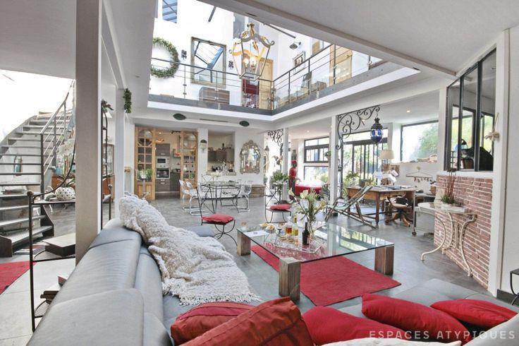 79 best espaces atypiques nantes images on pinterest nantes ea and loft. Black Bedroom Furniture Sets. Home Design Ideas