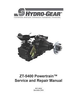 Transaxle 1015-1015L/0507000-00 HYDRO GEAR ZT-5400
