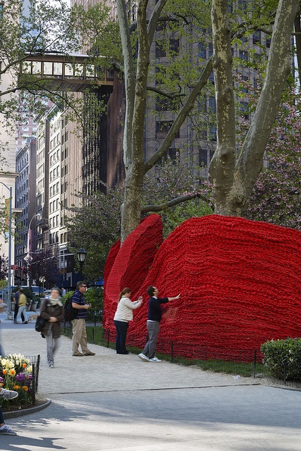 Mad. Sq. Art 2013: Orly Gengers Red, Yellow and Blue by MadisonSquareParkConservancy, via Flickr