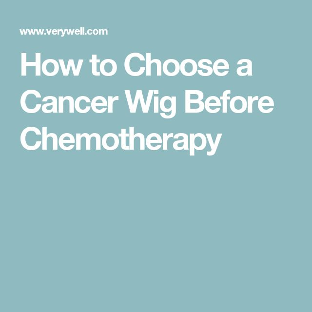 How to Choose a Cancer Wig Before Chemotherapy
