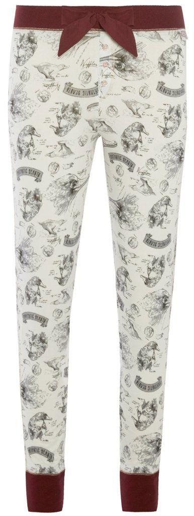 PRIMARK FANTASTIC BEASTS PJ Bottoms HARRY POTTER Leggings NIFFLER Sizes 6 - 20 NEW