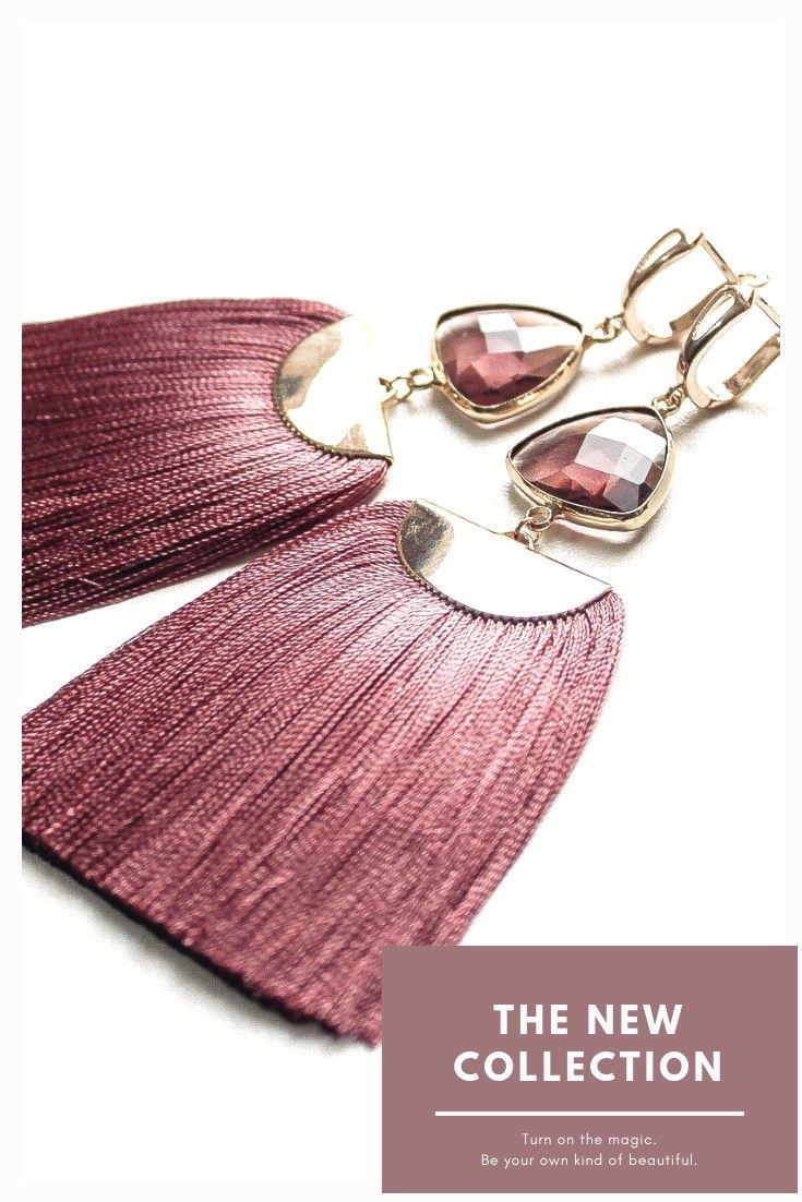 Tasselearrings Sergikisti Gold Bracelet Tassel Earrings Bracelets