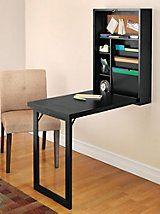 Fold-Out Escritorio convertible - montado en la pared de escritorio plegable | Soluciones