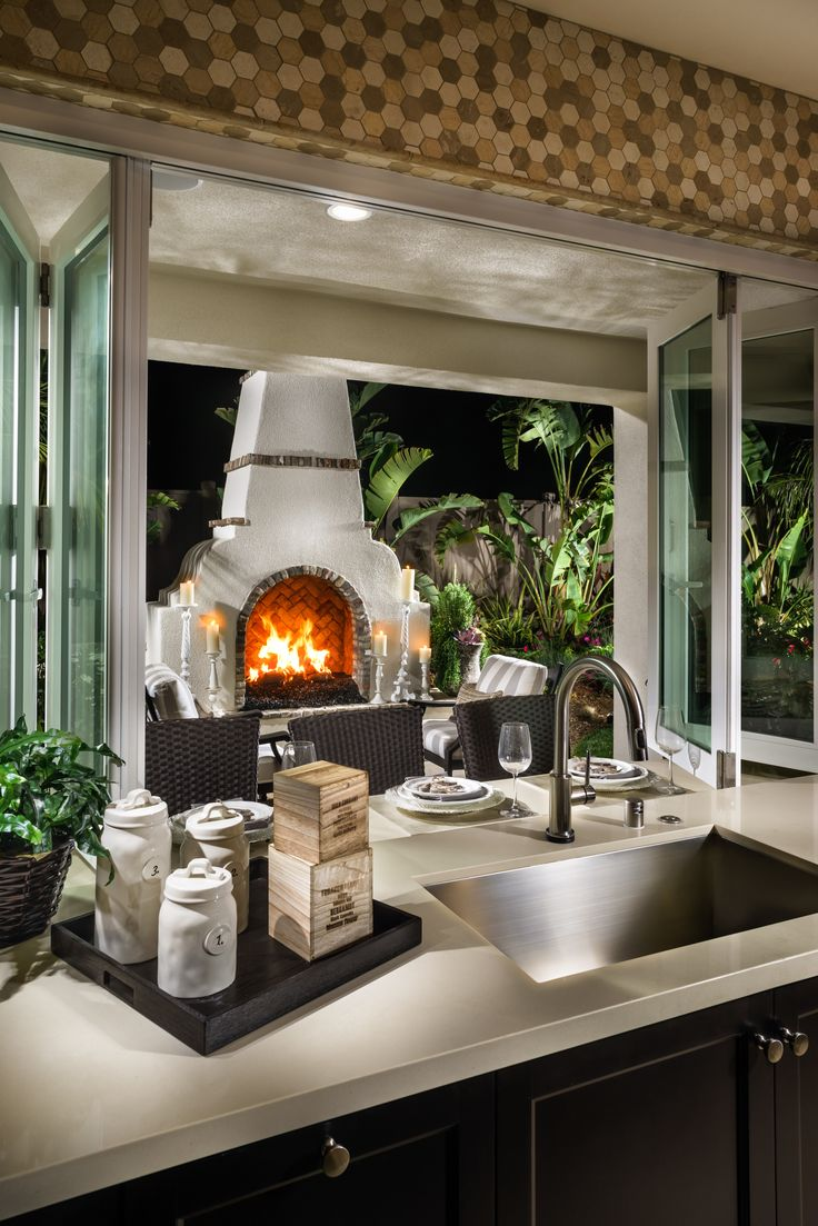 32 best images about beach house on pinterest master for Back to back indoor outdoor fireplace