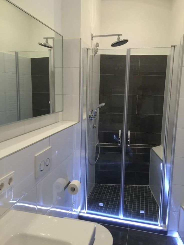 Dusche led leiste verschiedene design for Glasfliesen bad