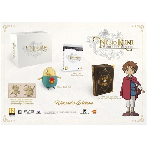 Ni No Kuni Wrath Of The White Witch Wizards Edition PS3.Pre Order Deal. Released February 1.$115
