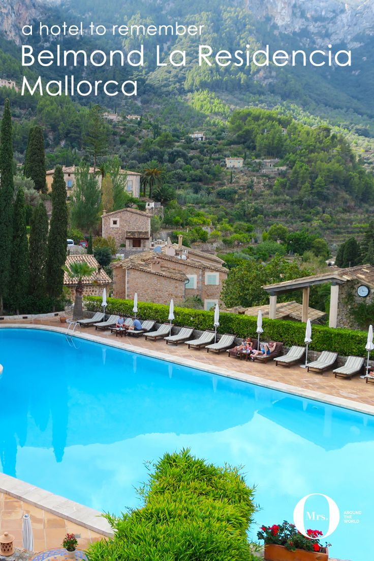 The Belmond La Residencia is well-known, as it was previously owned by Richard Branson. Located in Deia, Mallorca, this little town is very special as it is a UNESCO World Heritage village, at the heart of the Tramuntana mountain range, quite a spectacular setting.