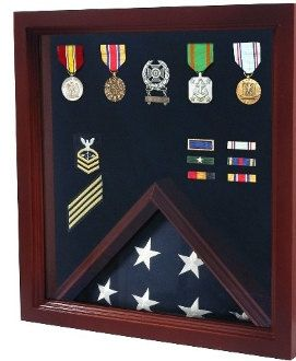 Military Medal Display Case, Military Shadow Box