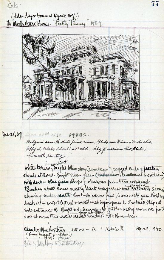 Edward Hopper (manuscript)